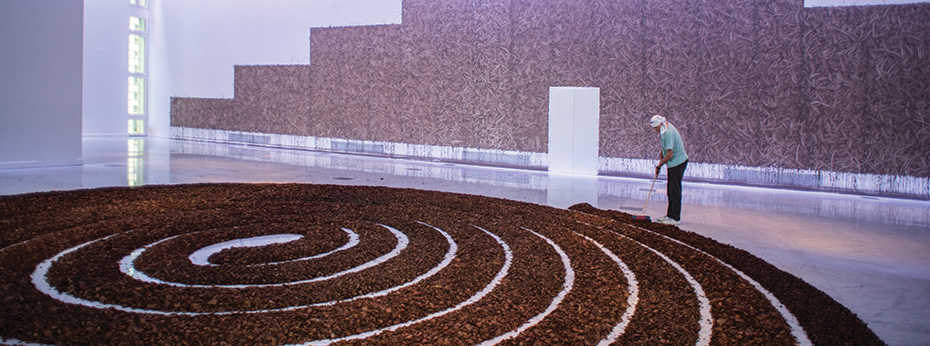 Richard Long @FaenaArts x Jorge Miño