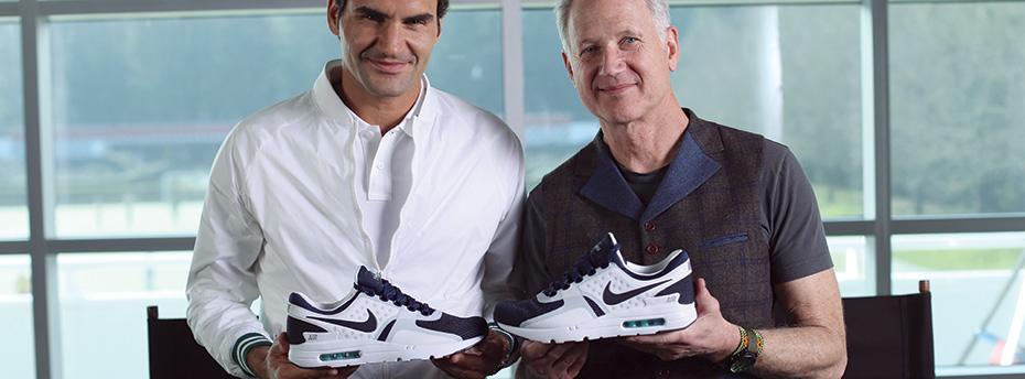 Nike Roger Federer + Tinker Hatfield