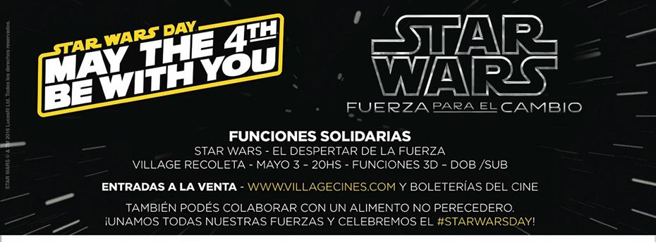 Disney celebra el dia de Star Wars con una iniciativa solidaria
