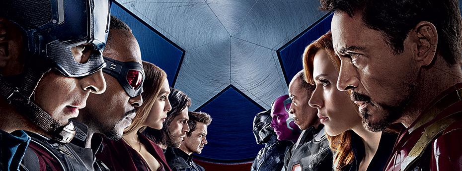 Hoy gran estreno Capitán América #CivilWar #TeamCap vs #TeamIronMan