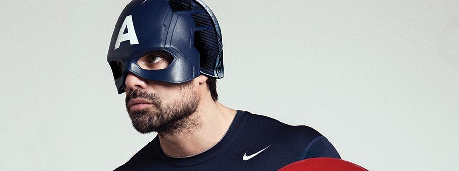Capitán América x Luciano Castro & Sabrina Rojas