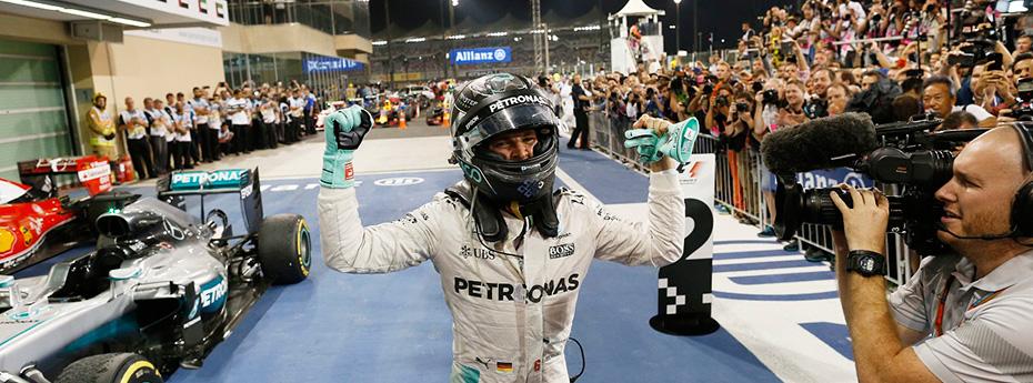 Nico Rosberg, es el nuevo campeón de la Fórmula 1