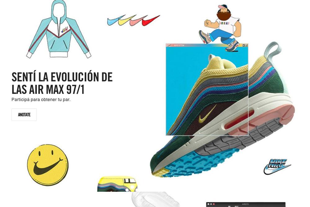 Nike anuncia sistema de sorteo para comprar las Nike Air Max 1 97 ... 94f19fff817