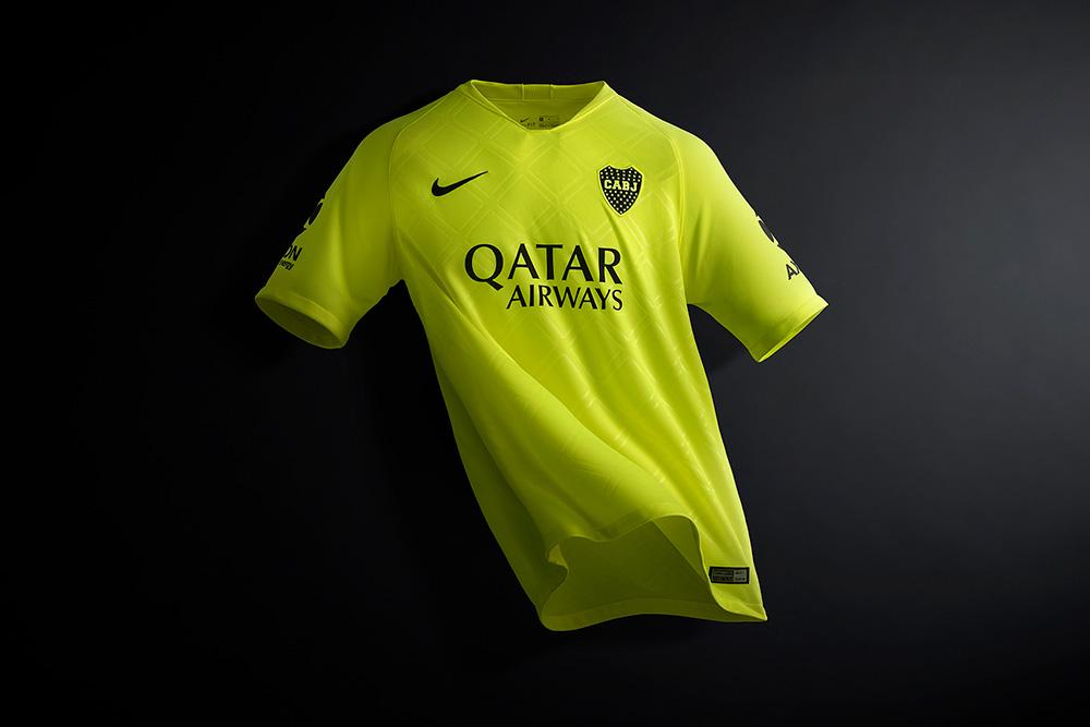 Nike presenta la tercera camiseta del Club Atlético Boca Juniors 55875d15a5733